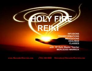 Holy Fire Reiki II Banner FIRE HAND 2